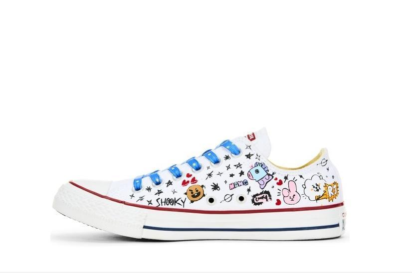 fb44ee9ab510 CONVERSE X BT21  CHUCK TAYLOR ALL STAR SNEAKERS – KpopCloud
