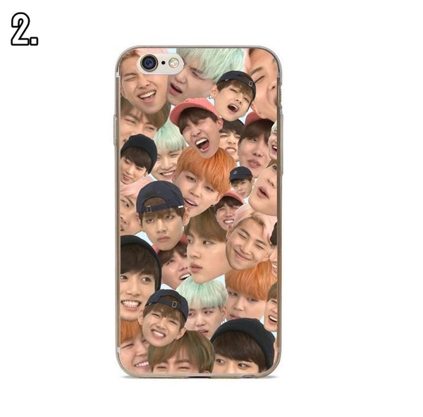 [BTS] Case for iPhone 5 to iPhone X