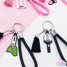 Load image into Gallery viewer, BTS, Black Pink, Wanna One, GOT7 Keychain