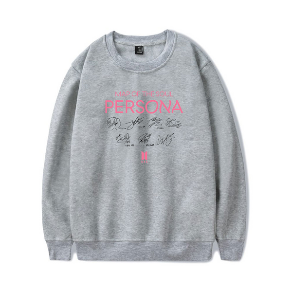 [BTS] Map Of the Soul Persona Sweater with Autographs