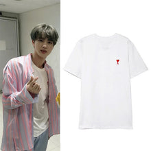 Load image into Gallery viewer, BTS Jin and GOT7 JinYoung ''Ace of Hearts'' Shirt
