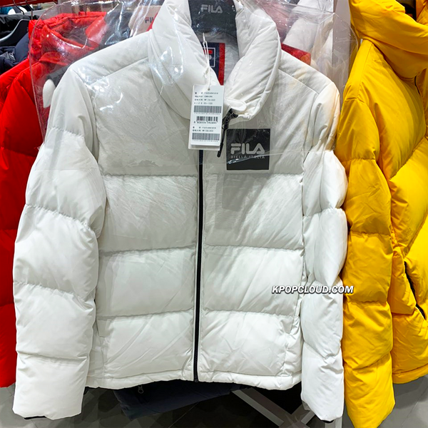 BTS X FILA 2019 New Cube Down Jacket + Special Gift Blanket