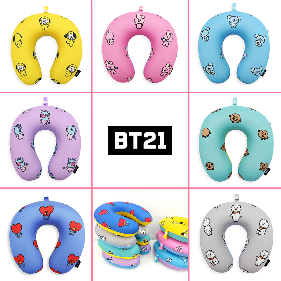 [BT21] Official Mesh Neck Pillow