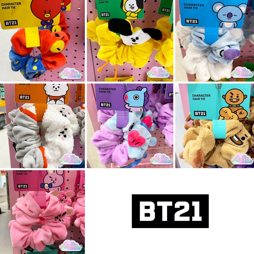 [BT21] Official Scrunchy Hair Tie
