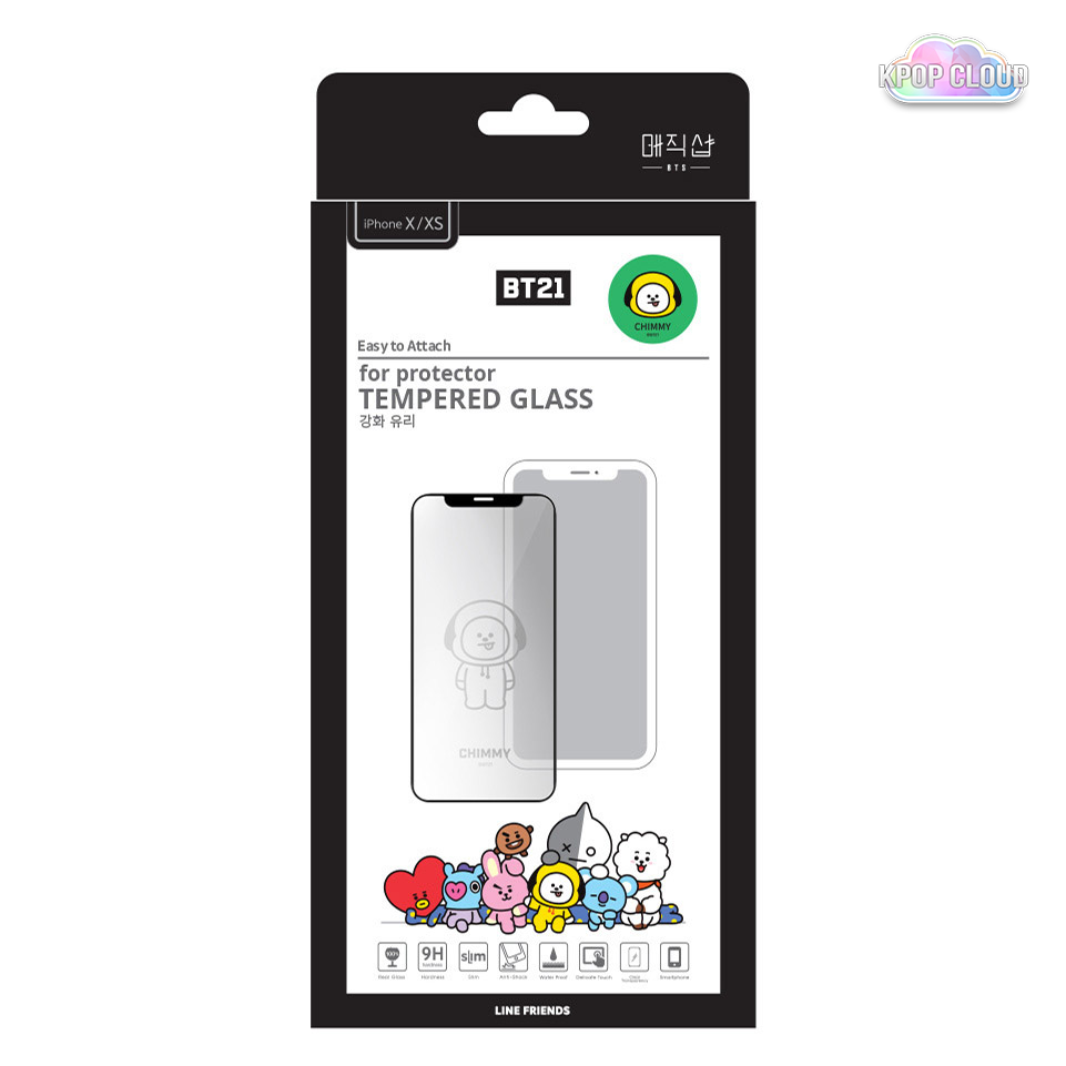 more photos 7c8fa d1d1e BTS 5TH MUSTER MD MAGIC SHOP BT21 Phone Case Tempered Glass