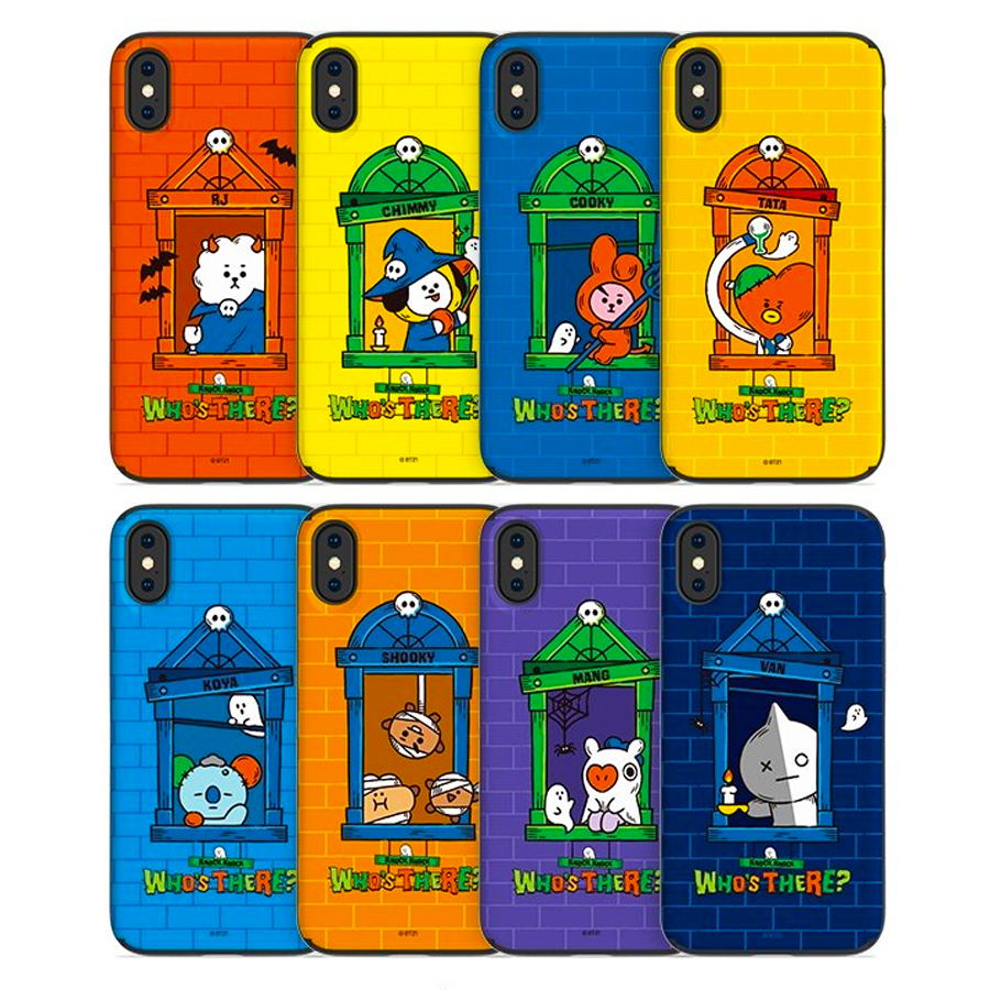 BT21 Official Halloween GuardUp Case