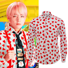Load image into Gallery viewer, [BTS] Taehyung ''Hearts'' Shirt