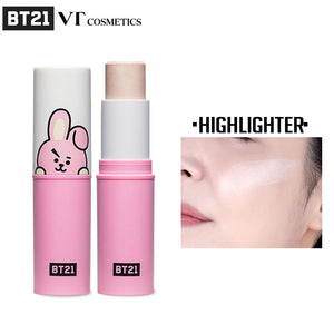 [BT21] Official VT Cosmetics Cooky Fit On Stick Highlighter (9.5g - 0.33oz)