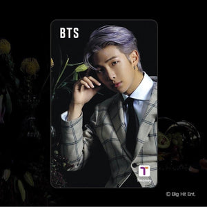 BTS Official CU T-Money Card 2020 (Limited Edition)