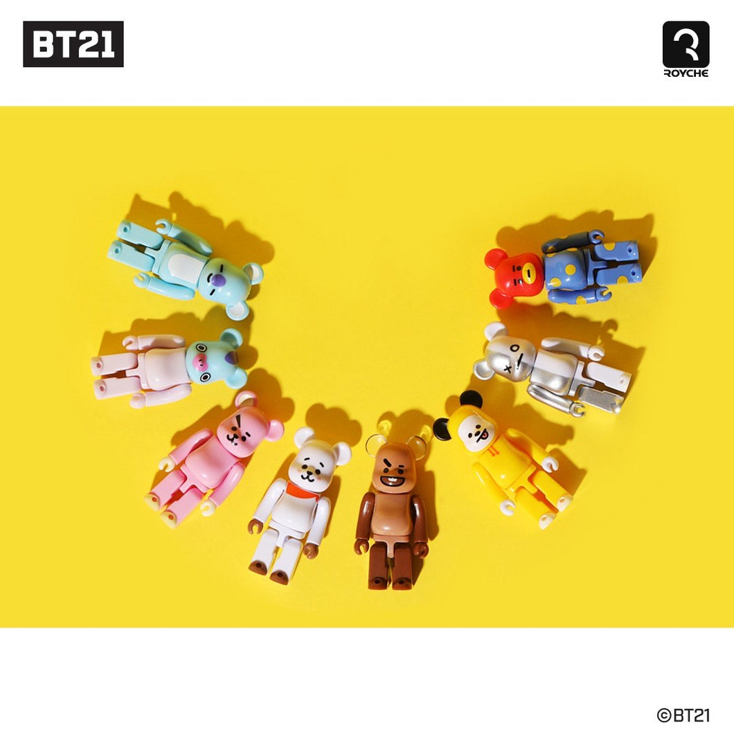 [BEARBRICK X BT21] Official Figure 10 SET (Special Limited Edition)