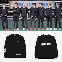 Load image into Gallery viewer, BTS OFFICIAL Run BTS 100th FILA Sweatshirt (Free Shipping)