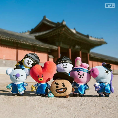 BT21 Official Standing Doll HANBOK Version