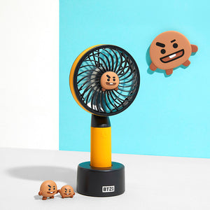[BT21] Handy Fan (USB Charger) + Free Shipping by DHL or FeDex