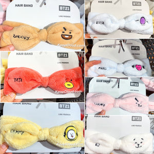 BT21 Official Facial Hair Band