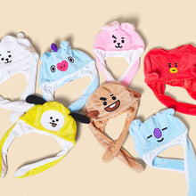 Load image into Gallery viewer, BT21 Official Hat Ear Moving Jumping