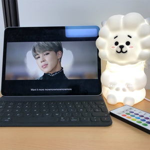 BT21 Official RJ Mood Lamp (Free Express Shipping)