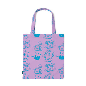 [LINE X BT21] Drawing Tote Bag