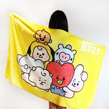 Load image into Gallery viewer, [LINE X BT21] Baby Together Flannel Blanket