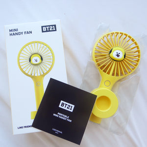 BT21 Official Chimmy Handy Fan Air Cooler (Free Express Shipping)
