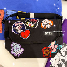 Load image into Gallery viewer, BT21 Official Messenger Bag Heart Version