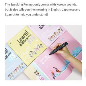 BTS Official - Learn! KOREAN with BTS BOOK Package + FREE Express Shipping