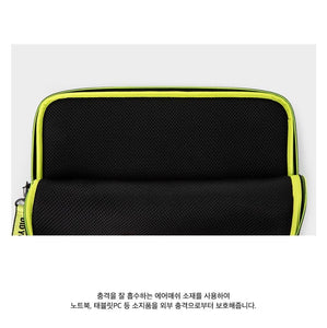 BTS OFFICIAL MIC DROP Multi Flat Pouch 13 inches
