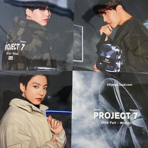 [FILA X BTS] Project 7: Vynil TWO Side Poster