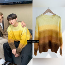 "Load image into Gallery viewer, BTS Suga Style ""Colors"" Sweater"