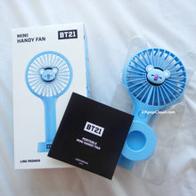 Load image into Gallery viewer, BT21 Official Koya Handy Fan Air Cooler (Free Express Shipping)