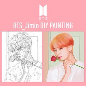 BTS Official DIY Painting (Free Express Shipping)