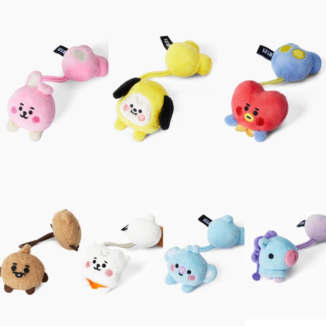 BT21 Official Plush Hair Tie Baby Version