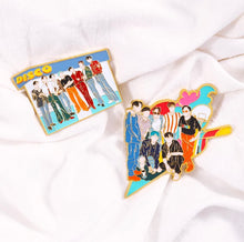 Load image into Gallery viewer, BTS Dynamite Enamel Pin