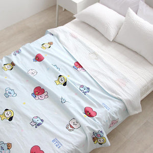 BT21 Official Baby Summer Layer Blanket