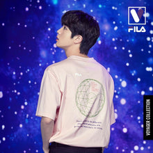 Load image into Gallery viewer, FILA X BTS - Loose-fit Graphic Short Sleeve Tee
