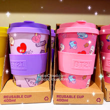 Load image into Gallery viewer, BT21 Baby Reusable Tumbler 400ml