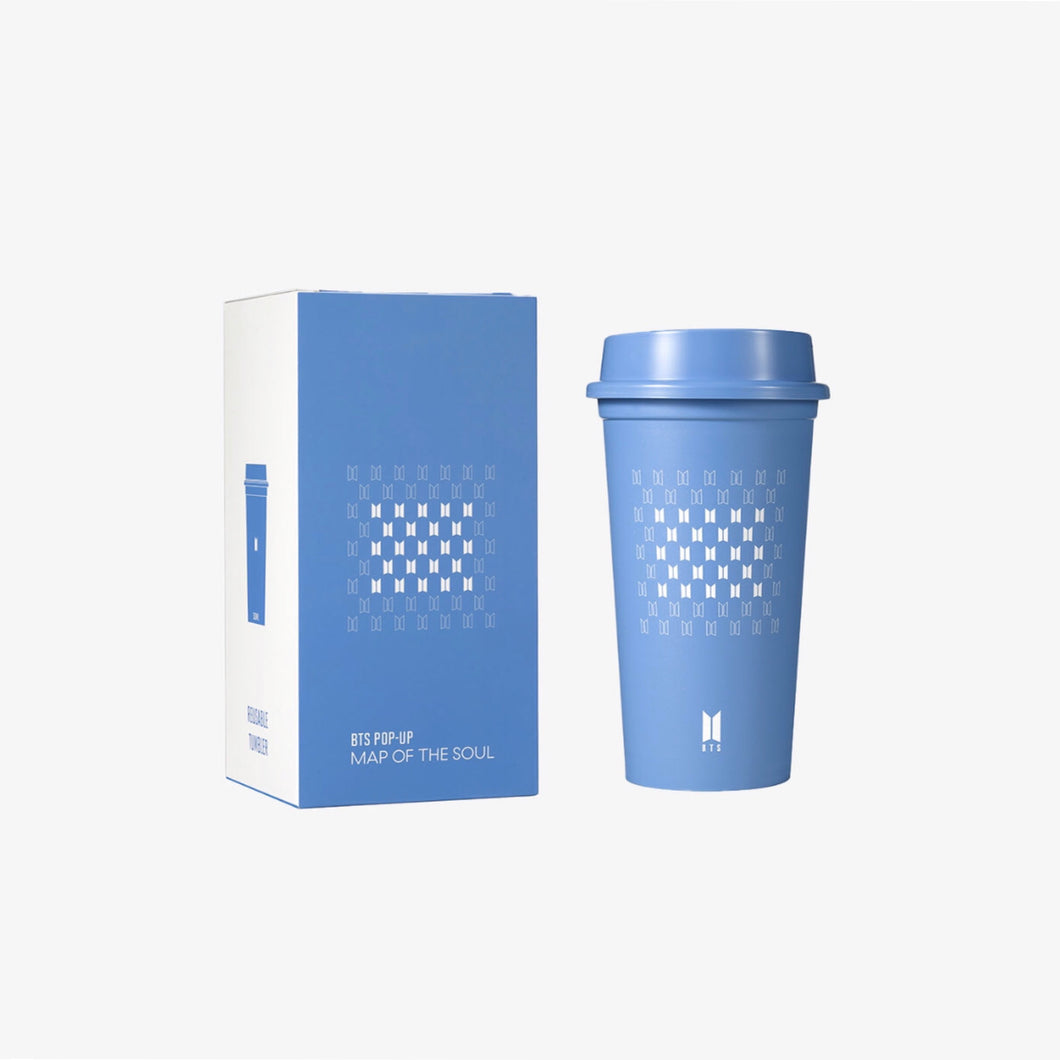 BTS Pop Up: Map of the Soul - Official Tumbler Signature Blue