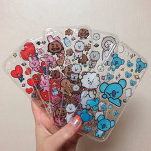 Load image into Gallery viewer, [BT21] Official Epoxy Sticker + Clear Phone Case Of Your Choose