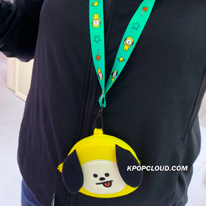 BT21 Official Strap Coin Purse