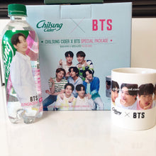 Load image into Gallery viewer, BTS x Chilsung Cider - Special Package 7 Bottles + BTS Mug Cup