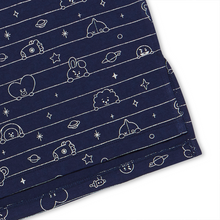 Load image into Gallery viewer, [BT21] Official Summer Pajama Dress ''Navy Blue''