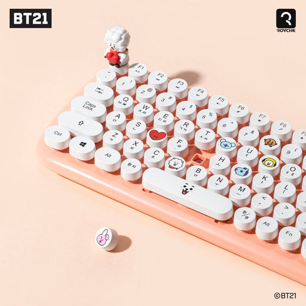 BT21 Official Keycap Set (Normal and Baby Version)