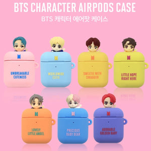 BTS Official Character Figure Airpods & Airpods Pro Case