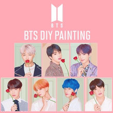 Load image into Gallery viewer, BTS Official DIY Painting (Free Express Shipping)