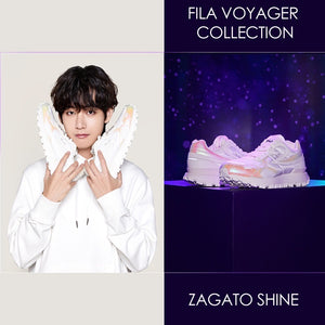 FILA X BTS - Voyager Collection ZAGATO SHINE Sneakers
