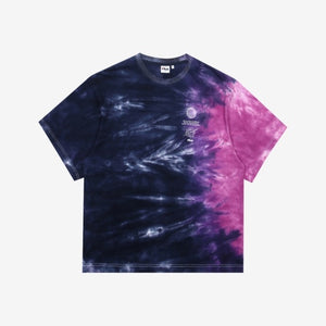 FILA X BTS - Loose Fit Tie Dye Short Sleeve