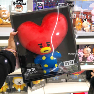 BT21 OFFICIAL COOKY, CHIMMY and TATA Standing Doll (Medium)