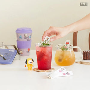 BT21 Official Stir Berry Stick Tea Set