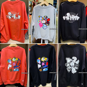 BT21 Official Warpen Sweatshirts ''BT21 Ver''