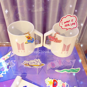 BTS Pop Up Store: Official Logo Mug