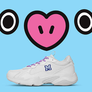 REEBOK x BT21 - Official Running Turbo Impulse Clean Sneakers (UNISEX)